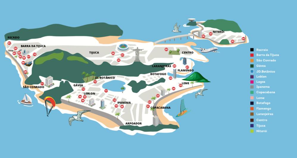 Mapa-GastroRioMatsuri